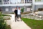 Dva japanska frenda u vrtu :)