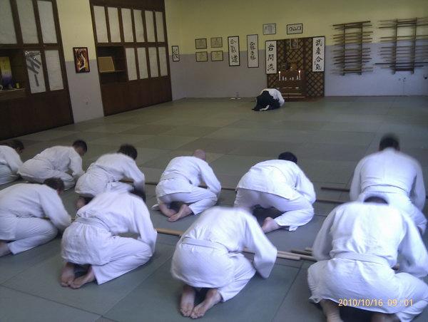 Aikido polaganja