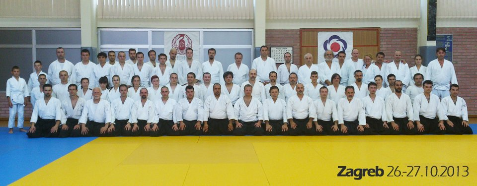 Aikido seminar Zagreb 2013-Paolo Corallini Shihan