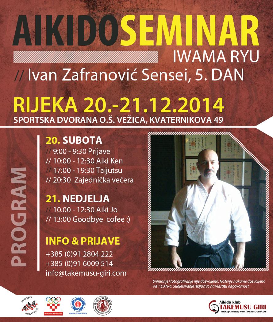 RIJEKA IVAN ZAFRANOVIC AIKIDO SEMINAR 12-2014