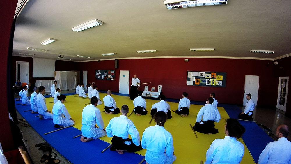 Aikido Rijeka-seminar geri waza 2016-buki waza