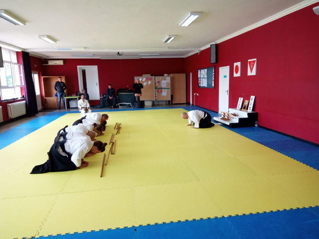 Aikido bukiwaza polaganje za viša zvanja