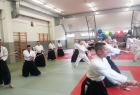 Detalj sa Takemusu aikido seminara u Ljubljani