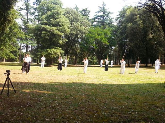 Aikido seminar Rovinj 2013 - jutarnja buki waza