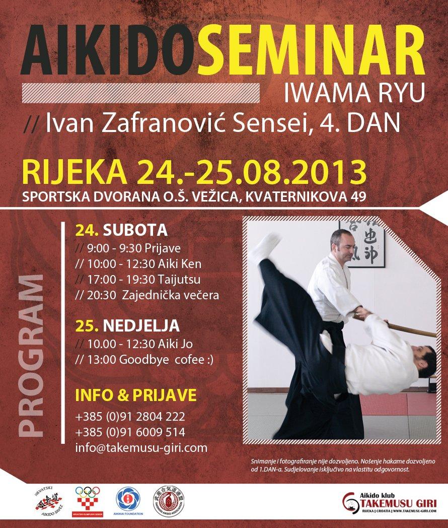 RIJEKA AIKIDO SEMINAR-2013