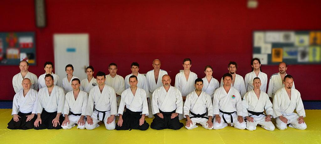 Aikido Rijeka-seminar geri waza 2016-zajednicka